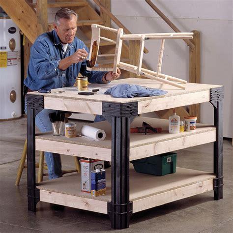 Work Bench Kits by 2x4 Basics Workbench Legs Building Kit Chkadels