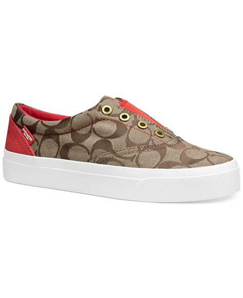 ... order coach margo sneaker shoes macys footies pinterest ea970 45f58 e72c4d42f734