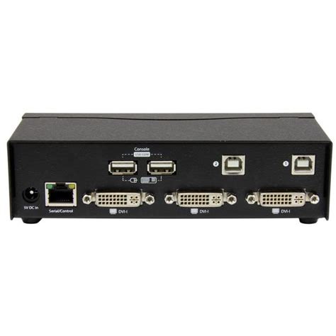 3 Kvm Switch by Dual Dvi Usb Kvm Switch With Cables Kvm Switches