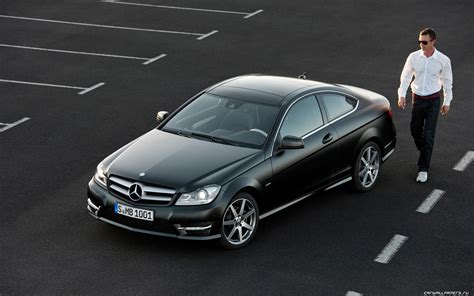 Mercedes C Class Coupe Backgrounds by Cars Desktop Wallpapers Mercedes C Class Coupe C250