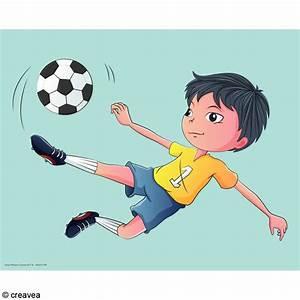 But Foot Enfant : image 3d enfant foot 24 x 30 cm images 3d 24x30 cm creavea ~ Teatrodelosmanantiales.com Idées de Décoration