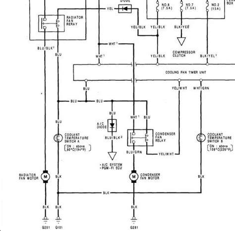 Questions Regarding Radiator Fans Honda Tech