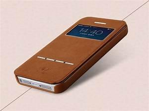 I Phone 5 Hüllen : iphone 5 5c 5s se leder h lle tasche mit s view touch funktion braun ~ A.2002-acura-tl-radio.info Haus und Dekorationen