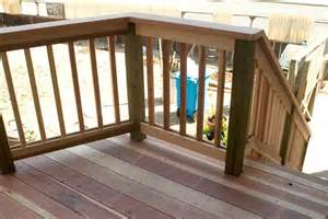 Deck Railing Pictures Ideas by Home Design Ideasdistinctive And Various Composite Terrace