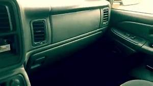 How To Open The Glove Box In A 2005 Chevy Silverado