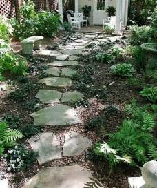inexpensive walkways and paths landscaping ideas on a
