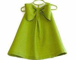 Clothes Washer Dimensions Chart Big Bow Dress Girls Spring Summer Dress Linen Blend