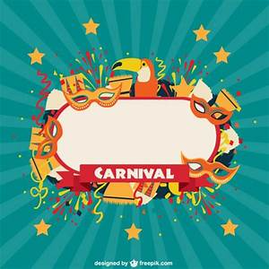 Carnival celebration label Vector | Free Download