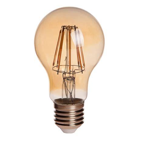 antique light bulbs gold tint a19 e26 e27 8w led vintage antique filament