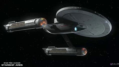 Star Trek's Finest Federation Starship USS Ares (NCC-1650 ...
