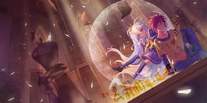 Anime Shiro Sora Flash Desktop Wallpapers Computer