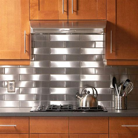 stainless steel kitchen ideas stainless steel solution for your kitchen backsplash