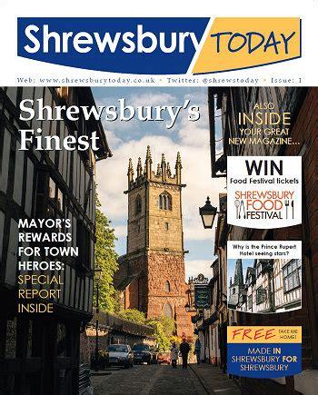 New magazine launched for Shrewsbury