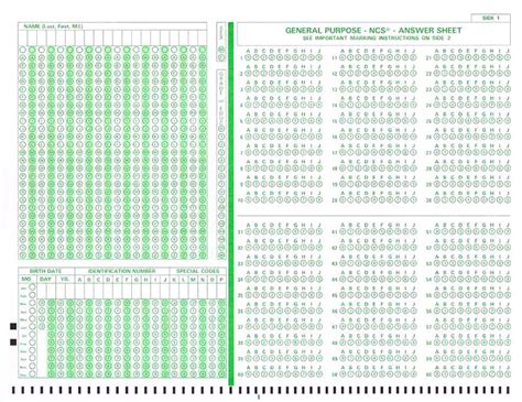 scanning  scoring scantron exams  faculty