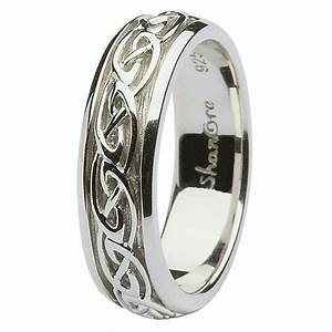 Ladies celtic wedding rings sl sd10 for Gaelic wedding ring