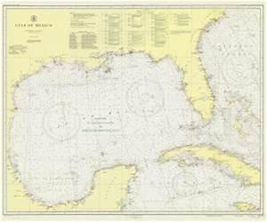 Nautical Charts Online Chart 1007a 7 1947 Al 1947 Gulf