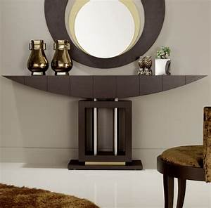 Entryway Table And Mirror Round STABBEDINBACK Foyer