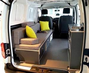 Nissan Nv200 Aménagé : bett sofa f r nissan nv200 mini camper 10 29 ~ Nature-et-papiers.com Idées de Décoration