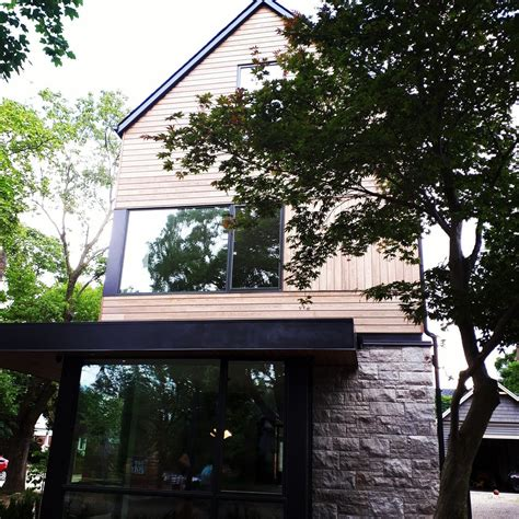 house home siding wood thermallymodified fineliving