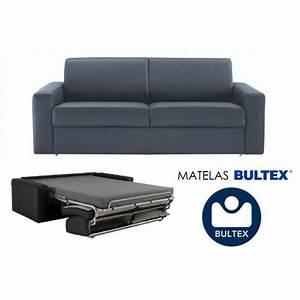 Canape Convertible Bultex : canape convertible couchage quotidien bultex ~ Teatrodelosmanantiales.com Idées de Décoration