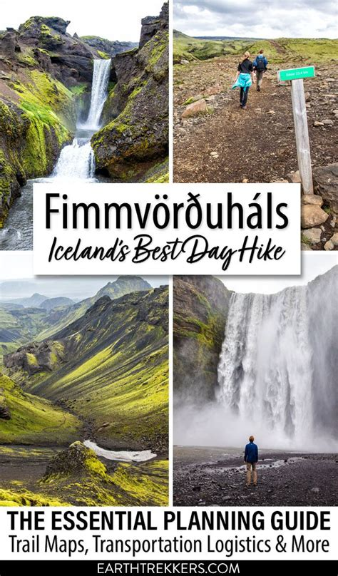 Fimmvorduhals Best Hike Iceland Earth Trekkers