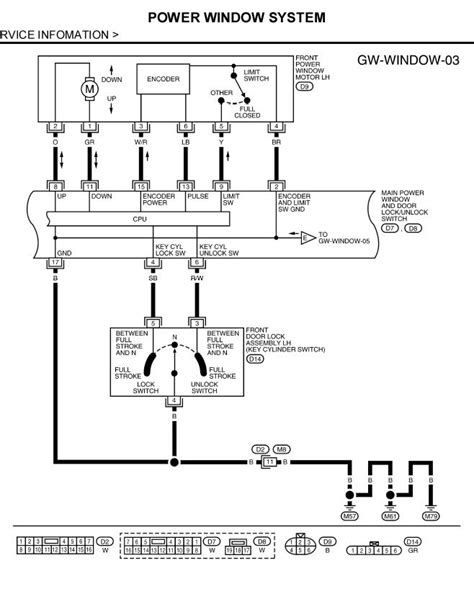 2006 Nissan Maxima Wiring Diagram Window by I An 07 Nissan Pathfinder I Ve Problems With