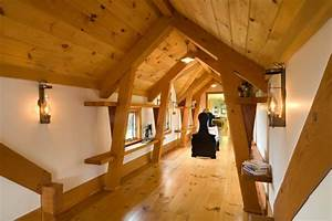vermont timber frame residence eclectic hall other With interior decorators in vermont