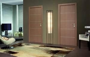 Porte Interieur Grise : bloc porte premium seymour ch ne gris ~ Mglfilm.com Idées de Décoration