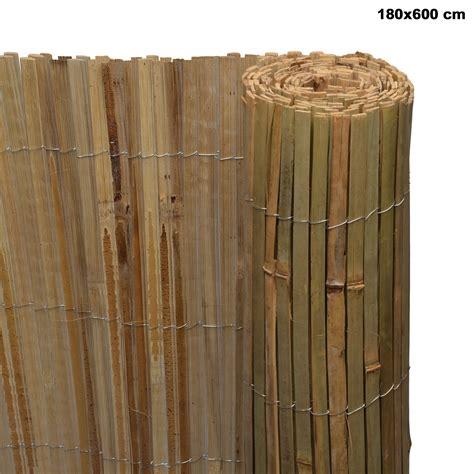 Sichtschutz Garten Bambus by Sichtschutz Bambus Sichtschutzzaun Sichtschutzmatte Balkon