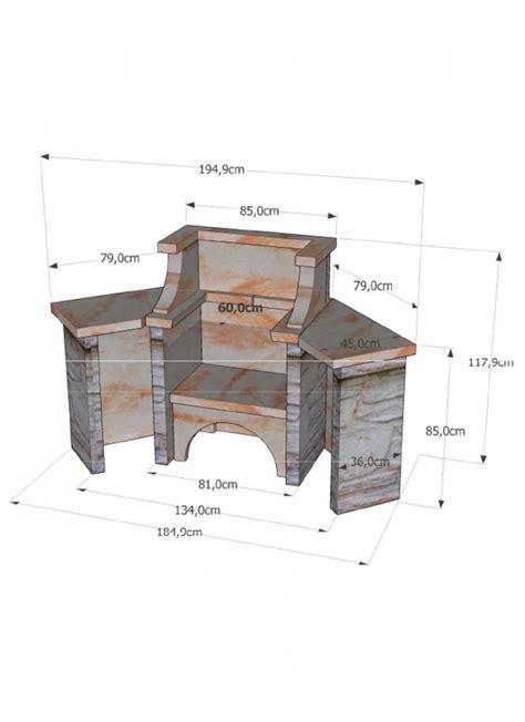 cuisine cellulaire barbecue en reconstituée d angle barbecue fixe pour angle