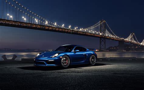 Porsche Cayman GT4 Avant Garde Wheels Wallpaper | HD Car ...