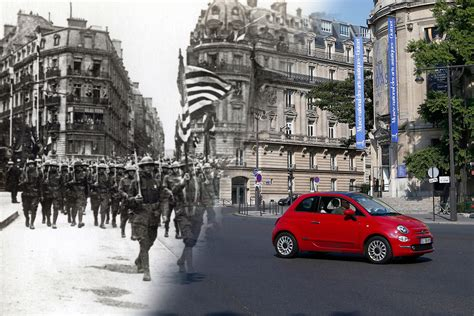 Historic pics show WWI-ravaged France, then and now