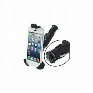 Chargeur Voiture Iphone : chargeur voiture avec support int gr pour iphone mobile store ~ Dallasstarsshop.com Idées de Décoration