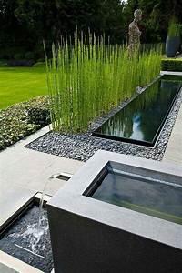 Wasserlauf Garten Modern : best 25 modern garden design ideas on pinterest modern gardens contemporary garden design ~ Markanthonyermac.com Haus und Dekorationen