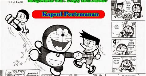 contoh gambar ilustrasi kartun doraemon ideku unik