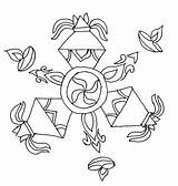 Rangoli Diwali Coloring Crackers Special Drawing Getdrawings Netart sketch template