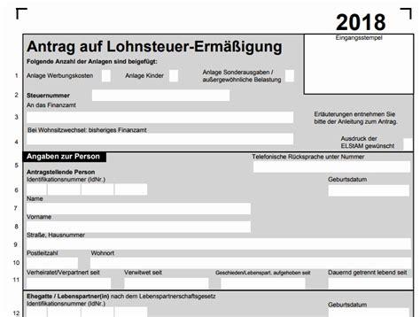 formulare steuererklaerung  ausdrucken von antrag auf