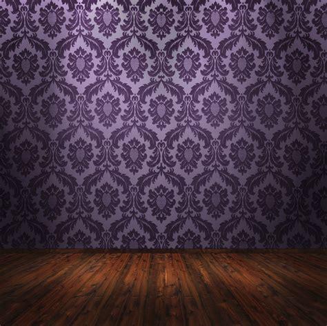 Tapisserie Violette by Papierpeint9 Papier Peint Style Baroque