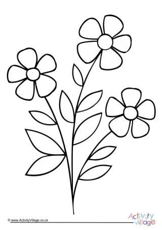 flower colouring pages printable flower coloring pages flower drawing design flower coloring