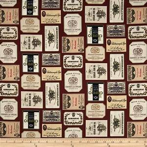 italian vineyard wine labels burgundy discount designer With fabric label design