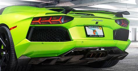 lamborghini aventador vorsteiner carbon fiber rear