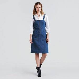denim skirts dresses shop this season39s jean skirts With robe en jean levis