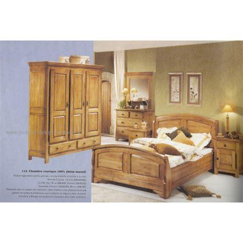 meubles lambermont chambre chambre rustique en chêne massif lambermont
