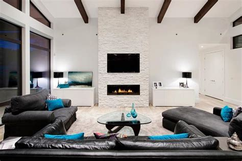 modern ideas for living rooms tv and furniture placement ideas for functional and modern