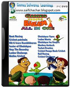 Chota Bheem All PC Games Collection Free Download Full ...