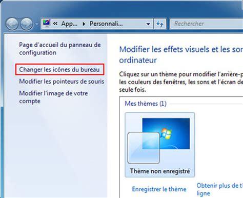 windows 7 icone bureau activer désactiver icônes de bureau windows 7