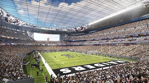 EXCLUSIVE: Take a tour of the new Las Vegas NFL stadium ...