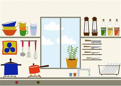 Kitchen Clip Icon Cooking Utensils Porter Vector