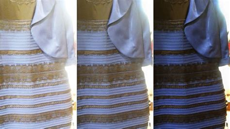 what color is the dress white and gold or black and blue why see the dress