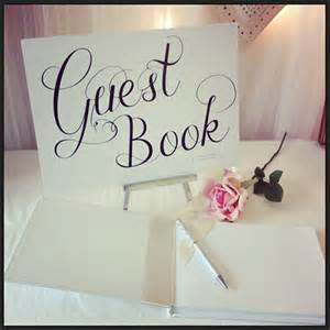 guestbook for wedding nautical stripes print wedding guest book